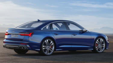 Audi S6 mild-hybrid - rear static