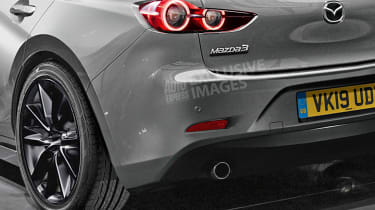 New Mazda 3 - rear detail (watermarked)