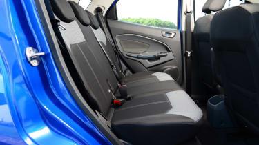 Ford EcoSport rear seats