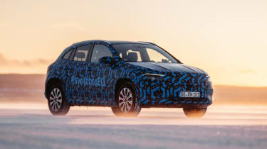 The all-electric EQA is expected to launch later in 2020 as a compact crossover. The new car is closely related to the GLA, with Mercedes claiming a maximum 250-mile range and decent performance from the most powerful 268bhp-plus version.