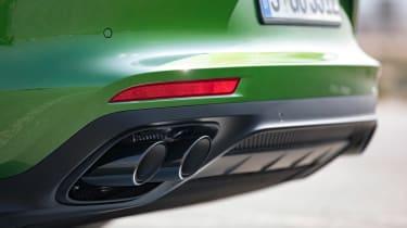 Porsche Panamera GTS - exhaust