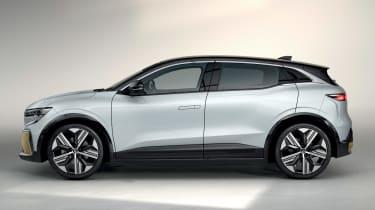 Renault Megane E-Tech Electric SUV - side