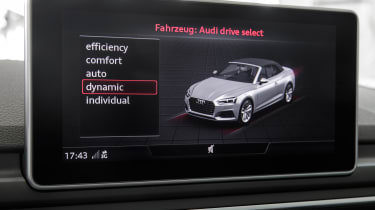 Audi A5 Cabriolet - drive select
