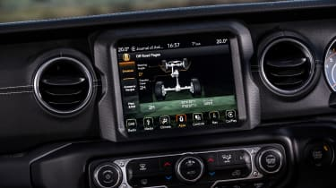 Jeep Wrangler  - off-road system