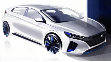 Hyundai Ioniq sketch ext.