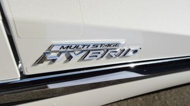 Lexus LS 500h 2018 review - hybrid badge