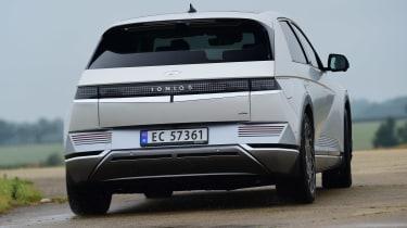 Hyundai Ioniq 5 - rear cornering