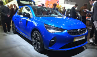 Vauxhall Corsa-e - Frankfurt front