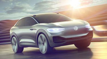 VW I.D. Crozz - front action