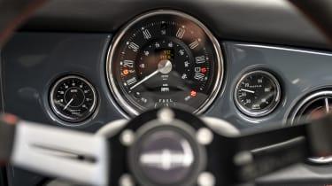 David Brown Automotive Mini Remastered Oselli Edition - dials