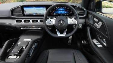 Mercedes GLE - dash