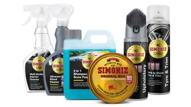 Simoniz new range car care