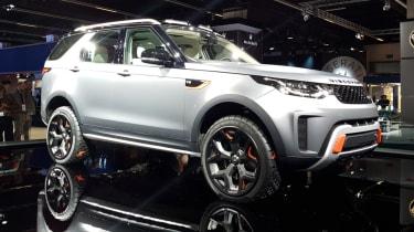 Frankfurt - Land Rover Discovery SVX - front quarter