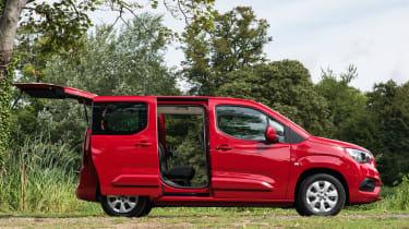 Vauxhall Combo Life - door open