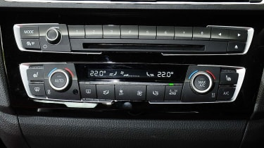 BMW 2 Series Convertible - controls
