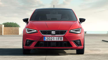 SEAT Ibiza facelift - front