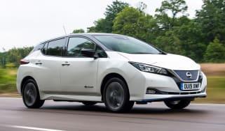 Nissan Leaf e+ - front