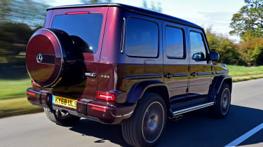 Mercedes-AMG G 63 - long term third report rear tracking