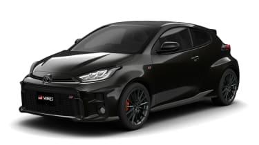 Toyota GR Yaris - front black