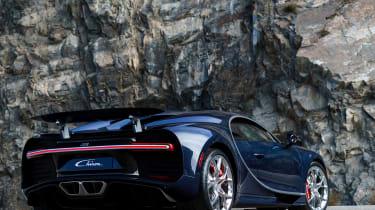 Bugatti Chiron - The Quail rear quarter
