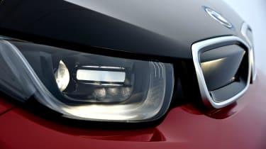 BMW i3s - front light detail