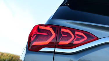 SsangYong Korando - rear lights