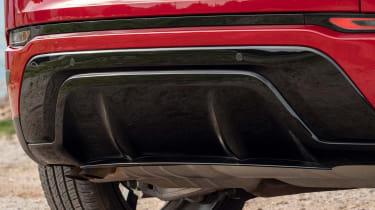 Range Rover Evoque - rear diffuser