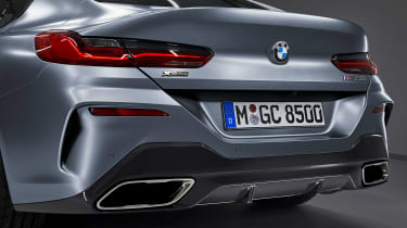BMW 8 Series Gran Coupe - rear detail