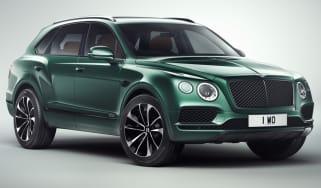 Bentley Bentayga by Mulliner front
