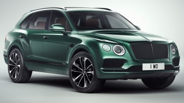 Bentley Bentayga by Mulliner front