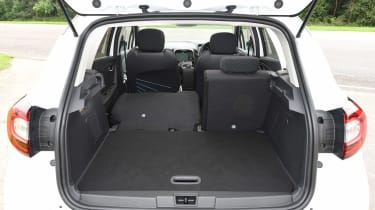 Renault Captur Practicality Boot Size Dimensions Luggage