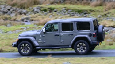 Jeep Wrangler - side