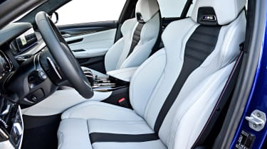 BMW M5 - front seats