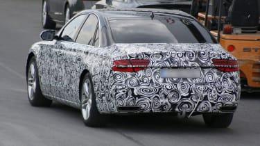 Audi A8 facelift rear