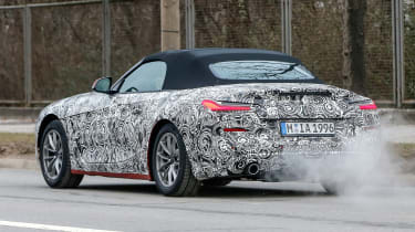 New BMW Z4 rev