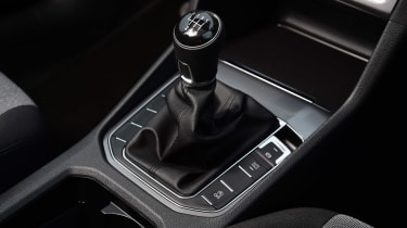 VW Golf SV BlueMotion gearstick