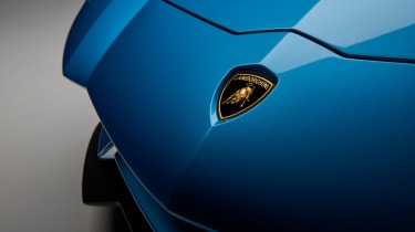 Lamborghini Aventador S Roadster - badge