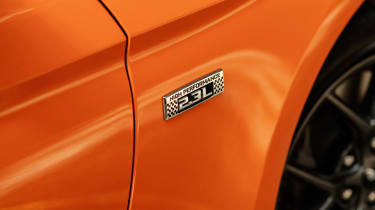 Ford Mustang High Performance Package - side badge