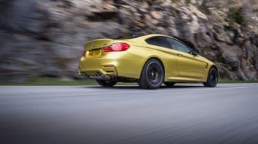 BMW M4 rear 3/4