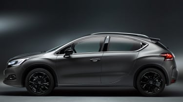 DS 4 Crossback Moondust - side