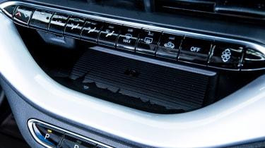 Fiat 500 - centre console