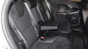 Volvo V40 long-term - first report rear seats