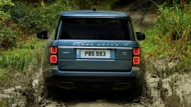 Range Rover SDV8 - rear off-road