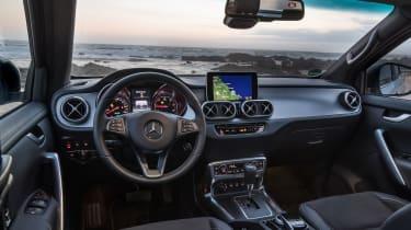Mercedes X-Class - cabin