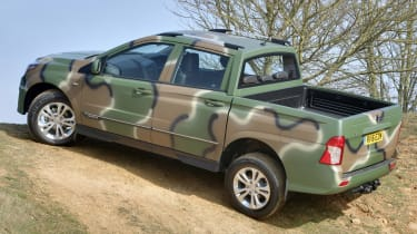SsangYong Korando Sports DMZ - rear quarter