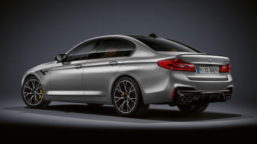 BMW M5 Competition Pack - rear