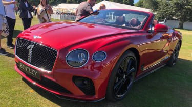 Bentley Continental GT Convertible Number 1 Edition Goodwood