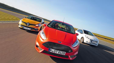 Ford Fiesta ST vs rivals