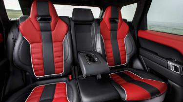 Range Rover Sport SVR - rear seats