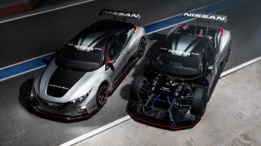 NIssan Leaf NISMO RC - body